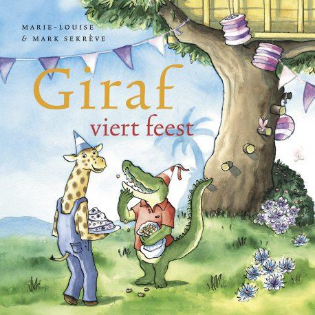 Giraf viert feest