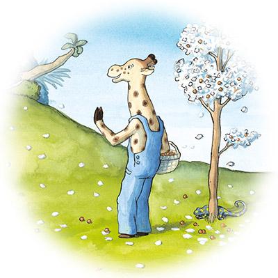 giraf-zwaait