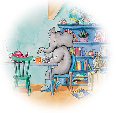 tiny-olifant-schrijft-een-brief
