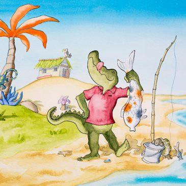 Tachtig vlijmscherpe tandjes en nog veel meer wonderlijke feitjes over krokodillen*