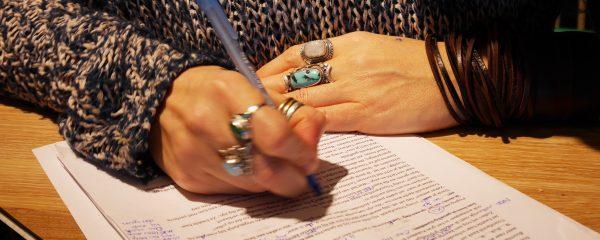blog schrijven, prentenboek