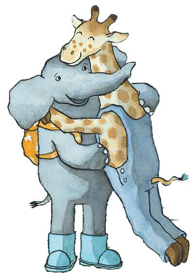 tiny-giraf-en-olifant-knuffelen