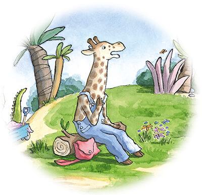 tiny-giraf-zit-op-een-steen