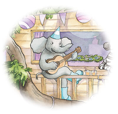 tiny-olifant-speelt-gitaar