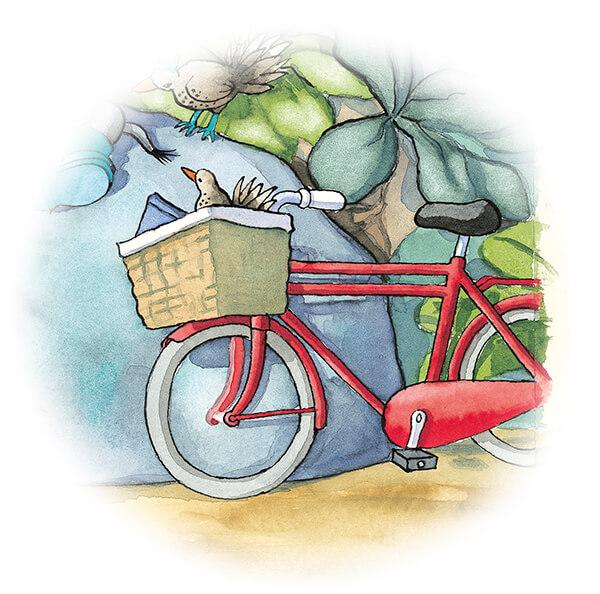 tiny-olifantsvogeltje-in-mand-op-fiets