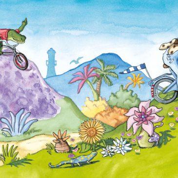 Fietsen, fietsen en nog eens fietsen…
