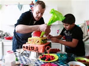 taarten bakker simon, taarten van abel flanst en versiert taarten, taarten bakken