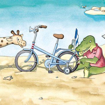 Leren fietsen zonder zijwieltjes*