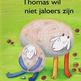 Lente prentenboek, thomas wil niet jaloers zijn